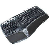 Microsoft Natural Ergonomic Keyboard 4000 čierna USB