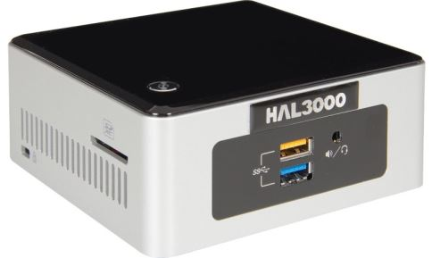 HAL3000 NUC Kit Celeron W10 / Intel Celeron N3050 / 4GB / SSD 120GB / WiFi / CR / W10