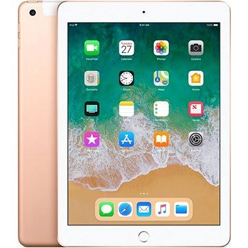 APPLE iPad 32GB WiFi Cellular Zlatý 2018