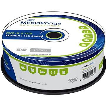 MediaRange DVD-R 25ks CakeBox