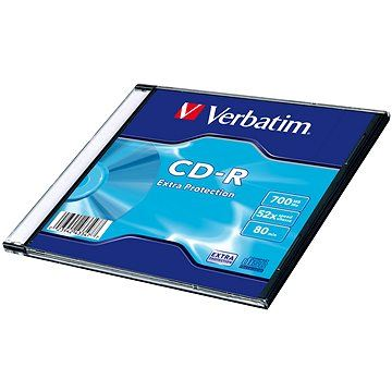 VERBATIM CD-R 80 52x EXTRA slim 200pc / BAL