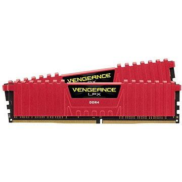 Corsair 16GB KIT DDR4 SDRAM 3000MHz CL15 Vengeance LPX červená