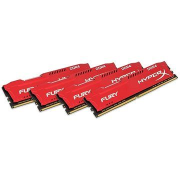 HyperX 32GB KIT DDR4 SDRAM 2933MHz CL17 Fury Red Series