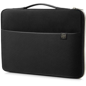 HP Carry Sleeve Black / Gold 14
