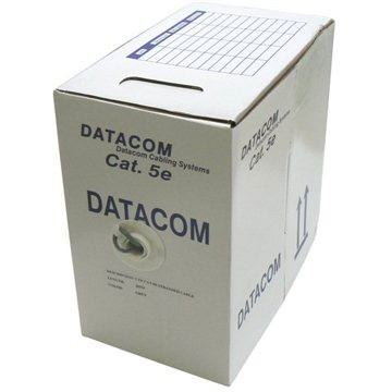 Datacom, drôt, CAT5E, UTP, 305m / box