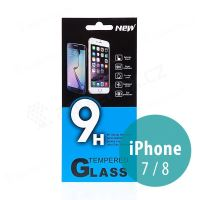 Tvrdené sklo (Tempered Glass) pre Apple iPhone 7/8 - na prednú stranu - 0,33mm