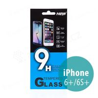 Tvrdené sklo (Tempered Glass) pre Apple iPhone 6 Plus / 6S Plus - na prednú stranu - 0,33mm