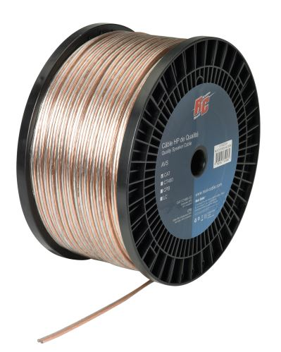 REAL CABLE CAT 0,75mm2 500m