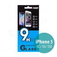 Tvrdené sklo (Tempered Glass) pre Apple iPhone 5 / 5C / 5S / SE - na prednú stranu - 0,33mm