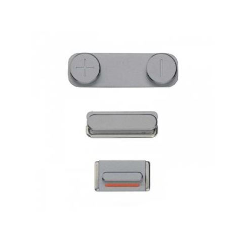 Side Buttons Space Grey pre Apple iPhone 5S