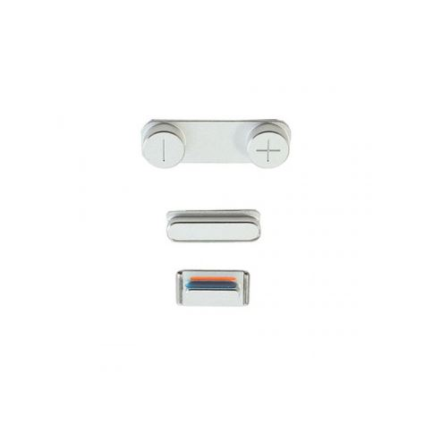 Side Buttons Silver pre Apple iPhone 5S
