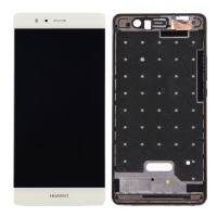 Huawei P9 LCD + Touch + Separate Frame White