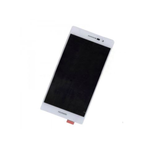 Huawei P7 LCD + Touch + Separate Frame White