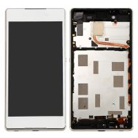 Sony Xperia Z4 LCD + Touch + Frame White