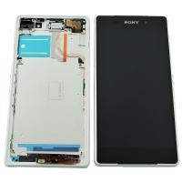 Sony Xperia Z2 LCD + Touch + Frame White