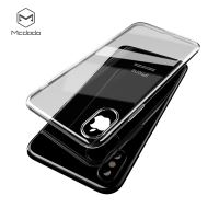 Mcdodo iPhone X Crystal Soft Slim Jacket Case (TPU) Black