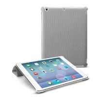 Puzdro CellularLine SmartCase pre Apple iPad Air, PU koža, sivé