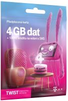 T-Mobile SIM Twist S nami, 4GB