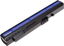 Batéria T6 power Acer Aspire One 8, 9, 10, 1, A110, A150, D150, D250, P531h, 3cell, 2600mAh, black