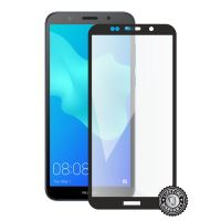 Screenshield HUAWEI Y5 (2018) Tempered Glass protection (full COVER black)