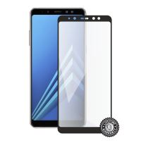 Screenshield SAMSUNG A530 Galaxy A8 (2018) Tempered Glass protection (full COVER black)