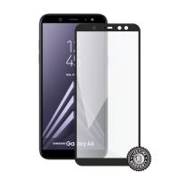 Screenshield SAMSUNG A600 Galaxy A6 Tempered Glass protection (full COVER black)