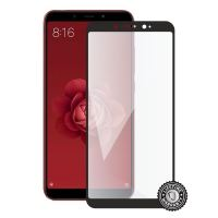 Screenshield Xiao Mi A2 Tempered Glass protection (full COVER black)
