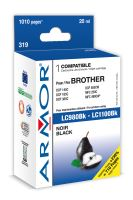 Armor ink-jet pre Brother DCP 145, (LC980 / 1100BK)