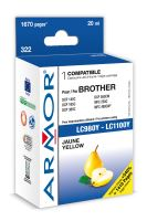 Armor ink-jet pre Brother DCP 145, (LC980 / 1100Y)