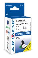 Armor ink-jet pre Brother MF C235, (LC970 / 1000Bk)