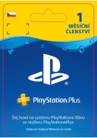ESD CZ PS4 - PlayStation Plus 1 Month Subscription