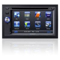 Autorádio BLAUPUNKT Sandiego 530 World, DVD / MP3 / WMA / Radio, USB, 2DIN