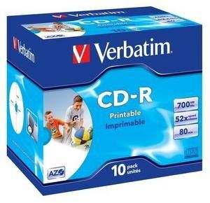 CD-R médium Verbatim Printable DataLifePLUS Super