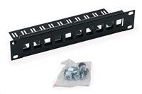 "10 ""modul.patch panel pre max. 10ks Keystone"